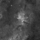 IC 1805 / Melotte 15 - Halpha only,                                Jonas Illner