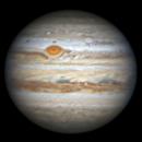 2020.7.5 Jupiter: GRS and Oval BA,                                周志伟