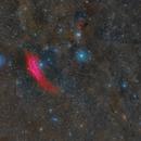 Region NGC 1499- Perseo Leg  (Mosaic of Six Panels RGB),                                Alberto Pisabarro
