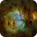 The Great Turkey Nebula - Hubble Palette and RGB Image,                                Eric Coles (coles44)