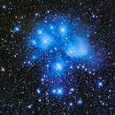M45 - The Pleiades (Oct14),                                Trevor Nicholls