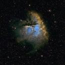 Pacman Nebula NGC281,                                henrygoo74d