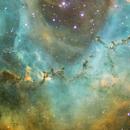 Deep inside the Rosette Nebula,                                Jari Saukkonen
