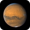 Olympus Mons' shadow & orographic clouds,                                Christofer Báez