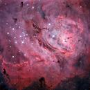 NASA APOD: The Depths of the Lagoon Nebula (M8),                                Adam Block