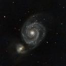 M51 Whirlpool Galaxy,                                Karoy Lorentey