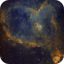 Heart nebula in narrowband,                                Jason Doyle Sr