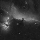 IC34 Horsehead nebula and NGC2024 Flame Nebula,                                JD