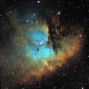 NGC 281 Pac man,                                JY