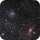 M52 Open Cluster and NGC7635 Bubble Nebula,                                seigell