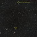 Comète 156P/Russel-Linear (étoiles) annotée,                                Corine Yahia (RIGEL33)