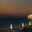 Holiday postcard with Orion. Greece, Rhodes,                                Łukasz Żak