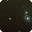 M 51 NGC 5194/5195  Whirlpool Galaxie,                                quinti