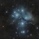 M45-Pleyades,                                Manuel J. del Valle