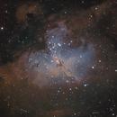 M16 The Eagle Nebula,                                John