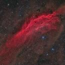 NCC 1499, the California Nebula,                                Steve Cooper