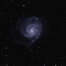 M101 Pinwheel Galaxy,                                Greg Derksen