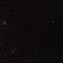 Comet 46/Wirtanen, Hyades and Pleiades,                                KHartnett