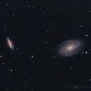M81 (Bode's Galaxy) & M82 (Cigar Galaxy),                                remidone