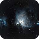 My first Orion Nebula,                                Gowri Visweswaran