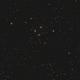 Leo-Quartett oder Hickson 44 im Kopfbereich des Sternbildes Löwe (Leo) - Widefield,                                astrobrandy