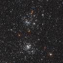 NGC 869 & 884 - Double Cluster in Perseus,                                Jan Schubert