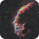 Ngc 6992- veil nebula HOO (version 3),                                astromat89