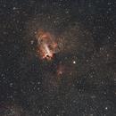 M 17 - Omega Nebula,                                AstroFrames