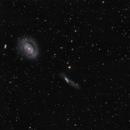 ngc4725 + PN LoTr 5 (superlum_HOO_RGB),                                *philippe Gilberton