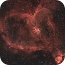 Heart Nebula with Hydrogen Alpha,                    brent1123