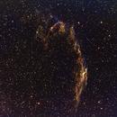 C33 Eastern Veil Nebula (NGC 6992/95)-HA-SHO- Meade 80 ED triplet-Orion flattener-ASI 1600-MM-Pro,                                Adel Kildeev