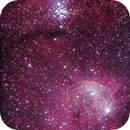 NGC3324 processed with Startools,                                dsoscope