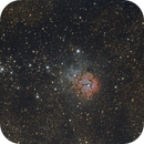 Trifid nebula,                                Bach hamba Youssef