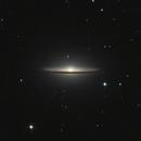 M104 Sombrero Galaxy 20210406 4800s LRGB 1.4.2,                                Allan Alaoui