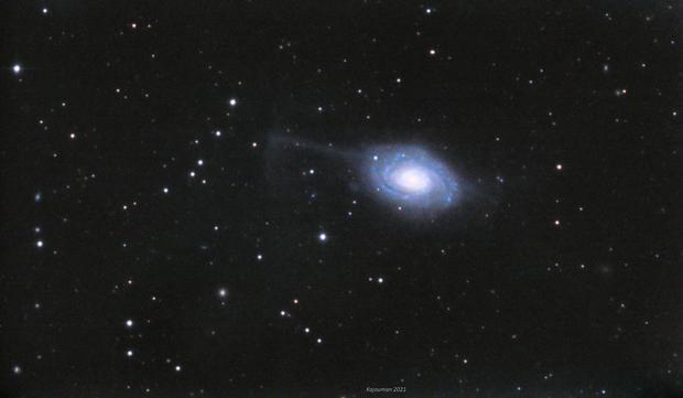 NGC4651 Umbrella Galaxy,                                John