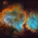 IC1848  -Soul nebula - mosaic,                                Arnaud Peel