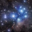 Pleiades Messier 45,                                Dean Salman