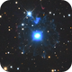 Cats Eye Nebula NGC6543 and galaxy NGC 6552,                                Albert van Duin