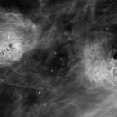 IV 405 & IC 410 in Auriga (Ha data reprocessed),                                pete_xl