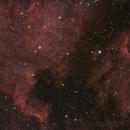 NGC 7000 and IC 5070, N. America and Pelican Nebulae,                                dheilman