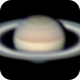 Saturn on April 30, 2020,                                Chappel Astro
