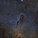 IC1396 SHO Crop,                                Astrovetteman