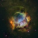 Sh2-301 in HST palette,                                John Ebersole