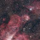 NGC 3324, NGC 3293,                                Gabriele Gegenbauer