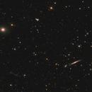 NGC 5529 and NGC 5557 in Bootes,                                Nurinniska