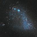 Small Magellanic Cloud - 110 hours LRGBHaOIII - 9 panel mosaic,                                ENPI