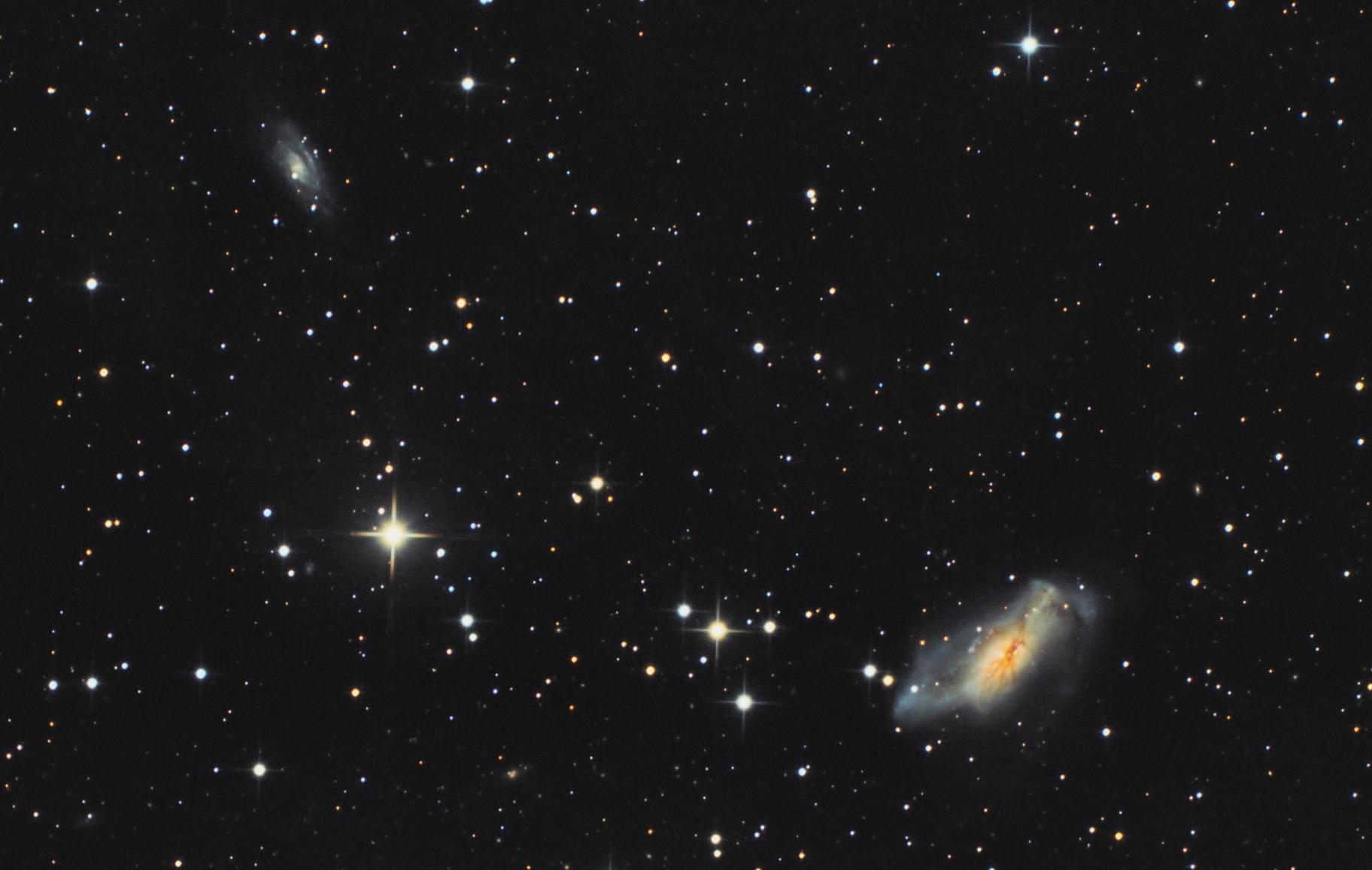NGC 2146 - crop,                                Gotthard Stuhm