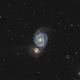 Messier 51,                                Le Mouellic Guill...