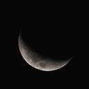 Moon at 27% (18 Jan 2021),                                KiwiAstro