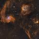 widefield view of  IC405, IC410,                                Ola Skarpen SkyEyE